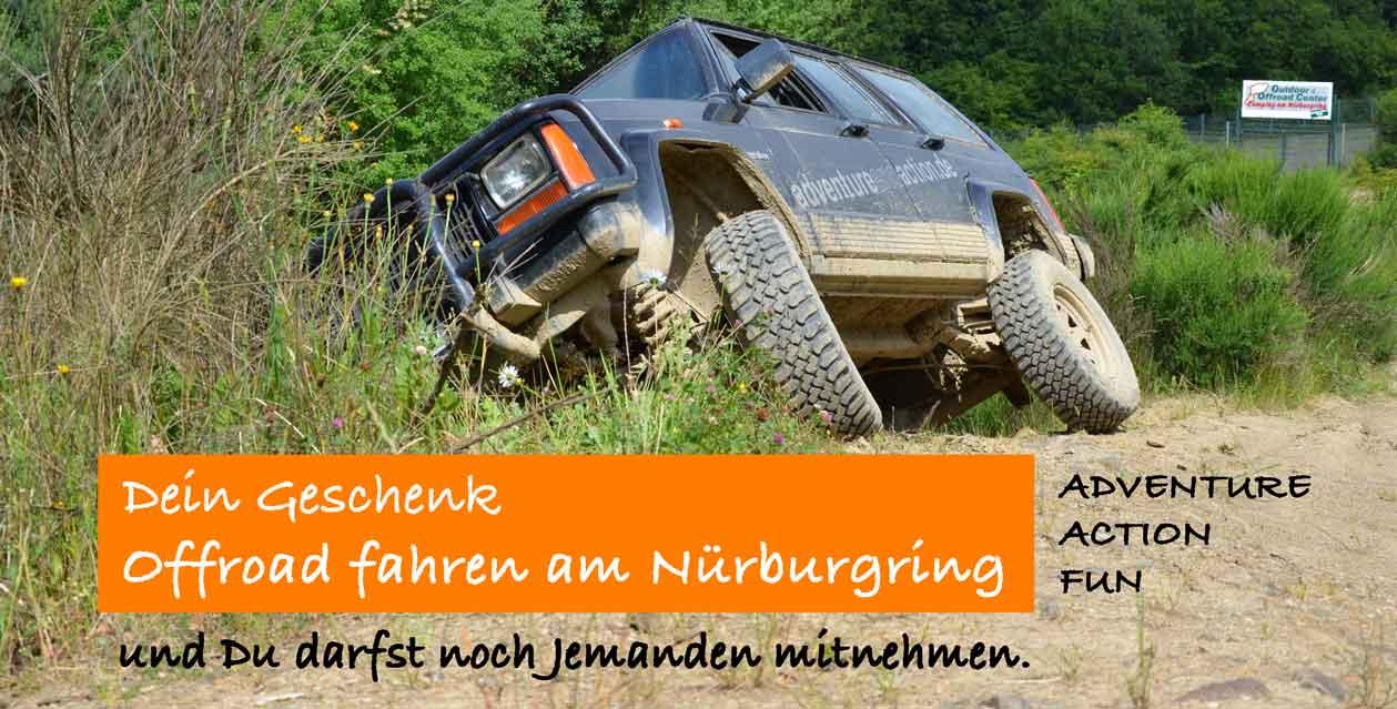 PLANORG-Geschenk-Offroad-fahren-am-Nuerburgring-Vorderseite-Seite-Geschenk