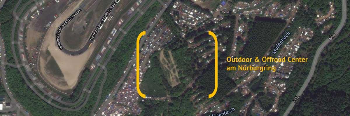 Luftaufnahme Outdoor und Offroad Center Nürburgring